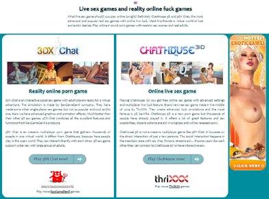 Juegos eróticos multijugador realista