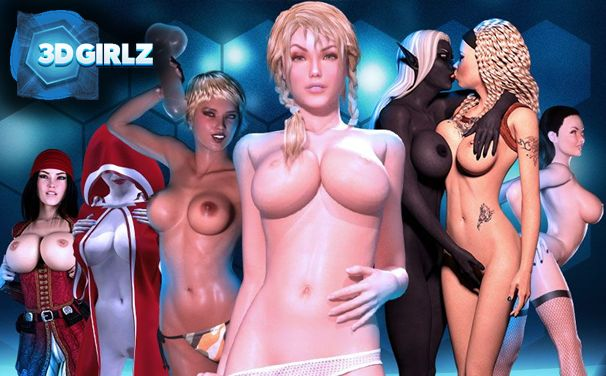 Interactive girls in 3D Girlz adult game