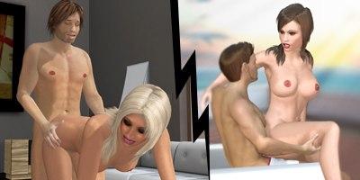 Multijoueur jeu porno de Chathouse 3D